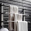 Χαμηλού Κόστους Soap Dispensers-Κρεμάστρα Πολλαπλών στρώσεων Μοντέρνα Ανοξείδωτο Ατσάλι 1pc - Μπάνιο / Ξενοδοχείο μπάνιο 3 μπαρ πετσετών Επιτοίχιες