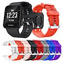 baratos Interruptor Inteligente-smartwatch banda para forerunner 30/35 garmin moda silicone macio banda esporte pulseira
