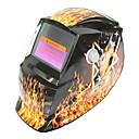 ราคาถูก หมวกกันน็อกจักรยานยนต์-รูปแบบความงามพลังงานแสงอาทิตย์อัตโนมัติ photoelectric หน้ากากเชื่อม