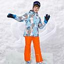 Χαμηλού Κόστους Μπότες πεζοπορίας στο χιόνι-Αγορίστικα Μπουφάν και παντελόνι για σκι Κατασκήνωση & Πεζοπορία Χειμερινά Αθήματα Διατηρείτε Ζεστό Αδιάβροχη Αντιανεμικό Τερυλίνη Ρούχα σύνολα Ενδυμασία σκι / Χειμώνας