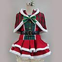 ราคาถูก วิกผมคอสตูม-แรงบันดาลใจจาก รักสด Santa Suits / คอสเพลย์ การ์ตูนอานิเมะ คอสเพลย์และคอสตูม ญี่ปุ่น ชุดคอสเพลย์ ลายต่อ / สีผสม ชุดเดรส / Shawl / อุปกรณ์เสริมเพิ่มเติม สำหรับ สำหรับผู้ชาย / สำหรับผู้หญิง