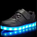 Χαμηλού Κόστους LED Παπούτσια-Αγορίστικα / Κοριτσίστικα LED / Ανατομικό / Φωτιζόμενα παπούτσια PU Αθλητικά Παπούτσια Νήπιο (9m-4ys) / Τα μικρά παιδιά (4-7ys) / Μεγάλα παιδιά (7 ετών +) Κορδόνια / Γάντζος & Θηλιά / LED