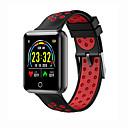 baratos Smartwatches-Kimlink J18 Feminino Relógio inteligente Android iOS Bluetooth Impermeável Monitor de Batimento Cardíaco Medição de Pressão Sanguínea Calorias Queimadas Distancia de Rastreamento Podômetro Aviso de