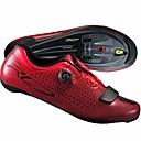 povoljno Obuća za vožnju biciklom-Obuća za cestovni bicikl Karbonska vlakna Prozračnost Cushioning Ultra Light (UL) Biciklizam / Bicikl Biciklizam Crvena Muškarci Tenisice za biciklizam / Kovani Microlock Buckle Strap i Ispravljač