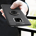 olcso Bugyik-Case Kompatibilitás Huawei Mate 10 / Mate 10 pro / Mate 10 lite Tartó gyűrű Fekete tok Egyszínű Puha TPU / Mate 9 Pro