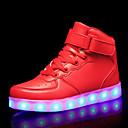ราคาถูก รองเท้า LED-เด็กผู้ชาย / เด็กผู้หญิง Light Up รองเท้า / คริสมาสต์ PU รองเท้าผ้าใบ เด็กน้อย (4-7ys) / Big Kids (7 ปี +) วสำหรับเดิน LED สีดำ / ขาว / แดง ตก / ฤดูหนาว / พรรคและเย็น