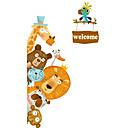 ราคาถูก สติกเกอร์ติดผนัง-สติ๊กเกอร์ประดับผนัง - Plane Wall Stickers สัตว์ต่างๆ / วันหยุด ห้องอาหาร / ห้องสำหรับเด็ก