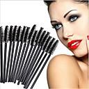 povoljno Očni četke-profesionalac Četke za šminku 50pcs Eco-friendly Profesionalna Synthetic Hair Plastika za Četka za šminku Četka za obrve