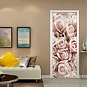 billige Veggklistremerker-Dekorative Mur Klistermærker - 3D Mur Klistremerker Still Life / Blomstret / Botanisk Stue / Leserom / Kontor