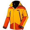povoljno Softshell, flis i jakne za planinarenje-Muškarci Skijaška jakna Ugrijati Vodootporno Vjetronepropusnost Skijanje Camping & planinarenje Snowboarding 100% poliester Zimska jakna Skijaška odjeća / Zima