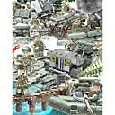Χαμηλού Κόστους Building Blocks-Τουβλάκια Στρατιωτικά μπλοκ Σετ όχημα 152 pcs Στρατιωτικό Τανκ Στρατιώτης συμβατό Legoing Προσομοίωση Στρατιωτικό όχημα Τανκ Όλα Αγορίστικα Κοριτσίστικα Παιχνίδια Δώρο / Παιδιά / Παιδικά