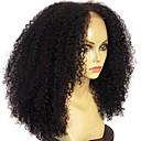 ราคาถูก วิกผมจริง-ผม Remy มีลูกไม้ด้านหน้า วิก ตัดผมหลายชั้น Rihanna สไตล์ ผมบราซิล Afro Kinky ดำ วิก 180% Hair Density ผมเด็ก เส้นผมธรรมชาติ วิกผมแอฟริกันอเมริกัน ไม่ได้เปลี่ยนแปลง สำหรับผู้หญิง ขนาดกลาง ยาว วิกผมแท้