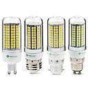 billiga Glödlampor-SENCART 1st 6 W LED-lampa 950 lm E14 G9 GU10 T 180 LED-pärlor SMD 2835 Ny Design Dekorativ Varmvit Vit 220-240 V 110-130 V