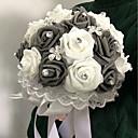 """ราคาถูก ชุดโต๊ะกลาง-ดอกไม้สำหรับงานแต่งงาน ช่อดอกไม้ งานแต่งงาน โฟม 8.66""""(ประมาณ 22ซม.)"""