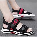ราคาถูก รองเท้าแตะผู้ชาย-สำหรับผู้ชาย รองเท้าสบาย ๆ กางเกงยีนส์ ฤดูร้อน รองเท้าแตะ สีดำ / สีดำ / สีแดง / สีดำและสีเหลือง