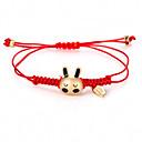 povoljno Nakit za tijelo-U obliku pletenice Narukvica prijateljstva - Rabbit Simple Style, Korejski, Moda Zlato Za Dnevno Žene