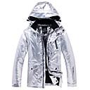 Χαμηλού Κόστους Φόρεμα για παγοδρομία-ARCTIC QUEEN Ανδρικά Γυναικεία Μπουφάν για σκι Σκι Κατασκήνωση & Πεζοπορία Σνόουμπορτινγκ Αδιάβροχη Αντιανεμικό Ζεστό Φιλικό στο Περιβάλλον Πολυέστερ Σακάκι Αντιανεμικά Μπολύζες Ενδυμασία σκι