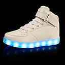 billige LED Sko-Gutt / Jente LED / Lysende sko PU Treningssko Toddler (9m-4ys) / Små barn (4-7år) / Store barn (7 år +) Gange LED Svart / Hvit / Rød Vår / Høst / Gummi