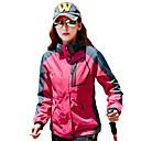 ราคาถูก ชุดกันลม,เสื้อขนแกะ,แจ็กเก็ตสำหรับปีนเขา-สำหรับผู้หญิง Hiking Jacket กลางแจ้ง ฤดูใบไม้ร่วง ฤดูหนาว กันลม ระบายอากาศ กันน้ำฝน Tops ความยาวของซิปรูดที่เห็นได้ชัดแบบเต็ม แคมป์ปิ้ง & การปีนเขา การปีนหน้าผา ปั่นจักรยาน / จักรยาน