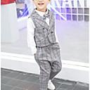 Χαμηλού Κόστους Σετ ρούχων για αγόρια-Παιδιά Αγορίστικα Βασικό Καθημερινά Μονόχρωμο Μακρυμάνικο Κανονικό Κανονικό Βαμβάκι Σετ Ρούχων Θαλασσί