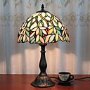 povoljno Stolne svjetiljke-12-inčni stolni svjetiljka umjetnički tiffany ambijentalne svjetiljke dekorativne ljupke stolne svjetiljke za unutarnju spavaću smolu 110-120v 220-240v 40w * 1 žarulja nije uključena