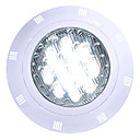billiga Strålkastare-1st 12 W Undervattensglödlampa Vattentät Kallvit / RGB / Vit 12 V / 24 V Utomhusbelysning / Simbassäng 12 LED-pärlor