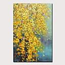 Χαμηλού Κόστους Πίνακες με Λουλούδια/Φυτά-mintura® μεγάλου μεγέθους ζωγραφισμένο στο χέρι ζωγραφισμένο ελαιογραφίες λαδιού σε καμβά σύγχρονη αφηρημένη εικόνα τέχνης τοίχου για διακόσμηση στο σπίτι χωρίς πλαίσιο
