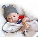 Χαμηλού Κόστους Κούκλες σαν αληθινές-NPKCOLLECTION NPK DOLL Κούκλες σαν αληθινές Μωρά Αγόρια 18 inch Σιλικόνη πλήρους σώματος Βινύλιο - Νεογέννητος Δώρο Χαριτωμένο Παιδικά Αγορίστικα Παιχνίδια Δώρο
