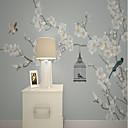 povoljno Zidne tapete-tapeta / Mural Platno Zidnih obloga - Ljepila potrebna Cvjetni print / Uzorak / 3D