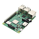 povoljno Raspberry Pi-mala pi 3 b + (plus) matična ploča s bcm2837b0 cortex-a53 (armv8) 1.4ghz CPU dual band wireless lan w / 1gb ram