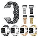 Χαμηλού Κόστους Smartwatch Bands-Παρακολουθήστε Band για Fitbit ionic Fitbit Αθλητικό Μπρασελέ Ανοξείδωτο Ατσάλι Λουράκι Καρπού