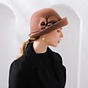 povoljno Party pokrivala za glavu-100% vuna Cvijeće / kape / Šeširi s Kapa / Cvjetni print / Trim 1 Zabava / večer Glava