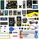 baratos Kits Faça-Você-Mesmo-keyestudio super starter kit / kit de aprendizagem (uno r3) para arduino starter kit com 32 projetos 1602 lcd
