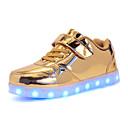 olcso Gyerek sportcipők-Fiú Világító cipők PU Tornacipők Kis gyerekek (4-7 év) / Nagy gyerekek (7 év +) LED Arany / Ezüst / Rózsaszín Ősz / Tél