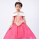 povoljno Movie & TV Theme Costumes-Aurora Haljine Cosplay Nošnje Djeca Djevojčice Haljine Božić Halloween Dječji dan Festival / Praznik Polyster Pink Karneval kostime Princeza