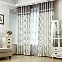 billiga Fönstergardiner-skräddarsydda energibesparande gardiner draperar två paneler för sovrummet