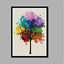cheap Abstract Paintings-Print Stretched Canvas Prints - Christmas Decorations Modern Comtemporary Modern