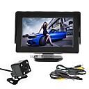 billige Bil-DVR-renepai® 4.3 tommers skjerm + trådløs 170 ° hd bil ryggekamera + high-definition vidvinkel vanntett cmos kamera