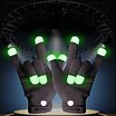 ราคาถูก ของเล่นแสงไฟ-LED Lighting LED Gloves ไฟลายนิ้วมือ ธีมคลาสสิก โคมไฟ ปลายนิ้ว วันหยุด ผู้ใหญ่ ทั้งหมด Toy ของขวัญ