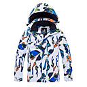 povoljno Obuća za vožnju biciklom-ARCTIC QUEEN Dječaci Djevojčice Skijaška jakna Vjetronepropusnost Toplo Prozračnosti Skijanje Camping & planinarenje Snowboarding Neljepljivo Polyester Jakna Vjetronepropusne jakne Majice Skijaška