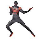 povoljno Anime kostimi-Zentai odijela Odijelo za kožu Puno radno odijelo uz tijelo Super Heroes Dječji Odrasli Lycra Cosplay Nošnje Muškarci Žene Crn Print Božić Halloween New Year