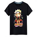 povoljno Cosplay za svaki dan-Inspirirana Naruto Naruto Uzumaki Anime Cosplay nošnje Japanski Cosplay majica Print Kratkih rukava Top Za Muškarci