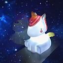 Χαμηλού Κόστους Φωτίστε τα παιχνίδια-Φωτισμός LED Unicorn Lovely Μαλακό Πλαστικό Παιδικά Εφηβικό Όλα Παιχνίδια Δώρο 1 pcs