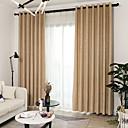 povoljno Prozorske zavjese-Moderna Blackout Zavjese Zavjese Dvije zavjese Zavjesa / Jacquard / Bedroom