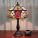 povoljno Stolne svjetiljke-12-inčni stol svjetlo dragonfly ruža umjetnički tiffany ambijentalne svjetiljke dekorativne lijep stolna svjetiljka za unutarnje spavaća smola 110-120v 220-240v 40w * 1 žarulja nije uključen