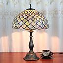billiga Bordslampor-12 tums skrivbord ljus konstnärlig tiffany ambient lampor dekorativa härlig bordslampa för inomhus sovrum harts 110-120v 220-240v 40w * 1 lampa ingår ej
