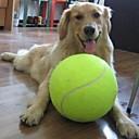 billiga Hundleksaker-Boll Tuggleksaker Tennisboll Interaktiv leksak Hund Katt Husdjur Husdjur Leksaker 1st Husdjursvänlig Blandat Material Present