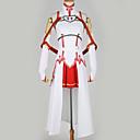 billiga Animekostymer-Inspirerad av SAO Swords Art Online Asuna Yuuki Animé Cosplay-kostymer Japanska cosplay Suits Specialdesign Topp / Kjol / Mer accessoarer Till Herr / Dam