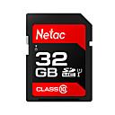 ราคาถูก SDการ์ด-Netac 32GB การ์ดหน่วยความจำ UHS-I U1 / Class10 p600