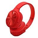 billige Hodetelefoner på øret og over øret-LITBest Over-øret hodetelefon Bluetooth 4.2 Reise og underholdning Bluetooth 4.2 Kul Stereo Med mikrofon
